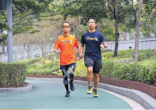 互相扶持 通山走覓前路 領跑員攜視障者人生再定向