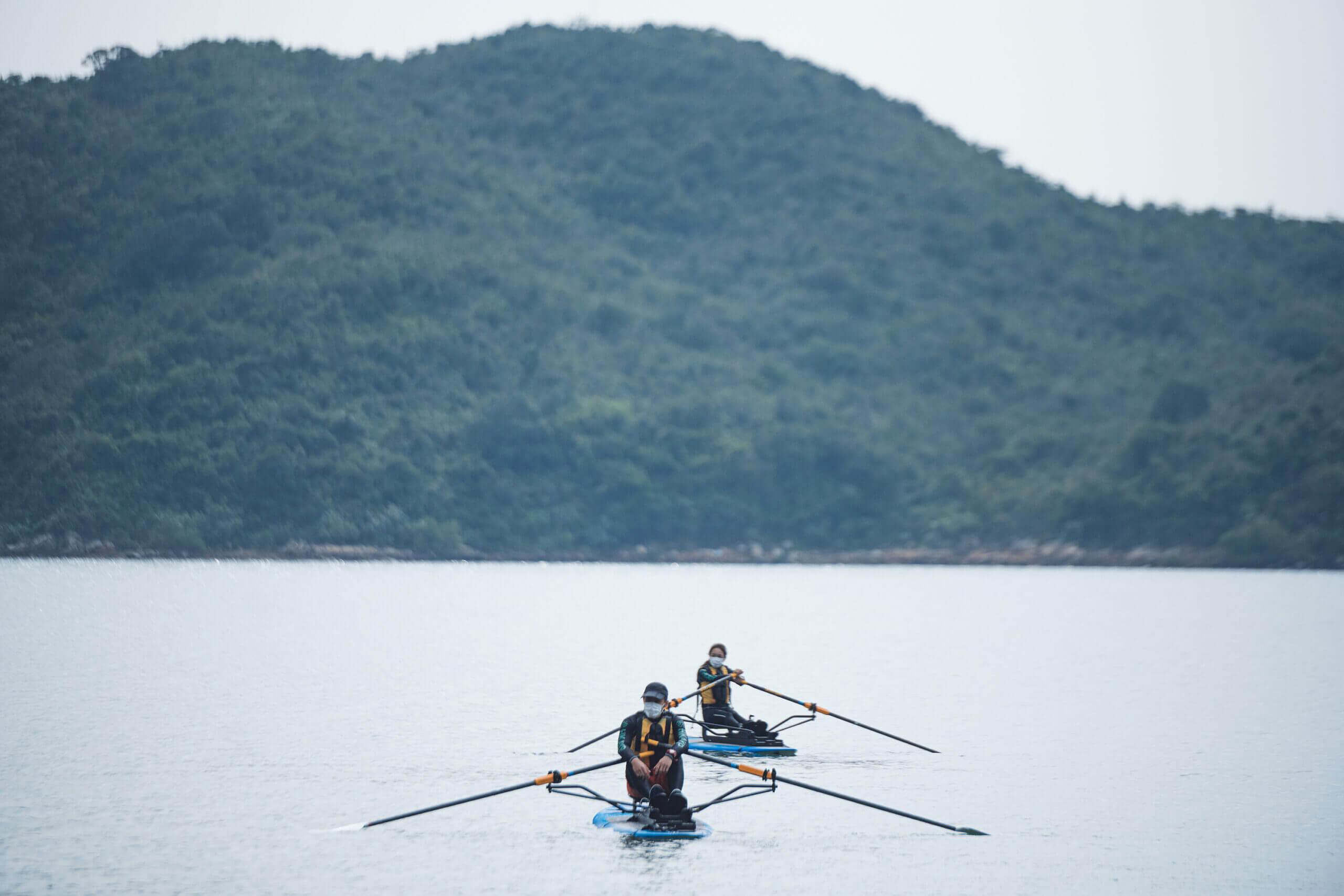 Sports Empower 青年起「動」計劃啟動禮 優先引入新興水上運動 — 平板賽艇 (Row on Board) 培訓青年成為教練 面對新常態下的不同挑戰 (Chinese Only)