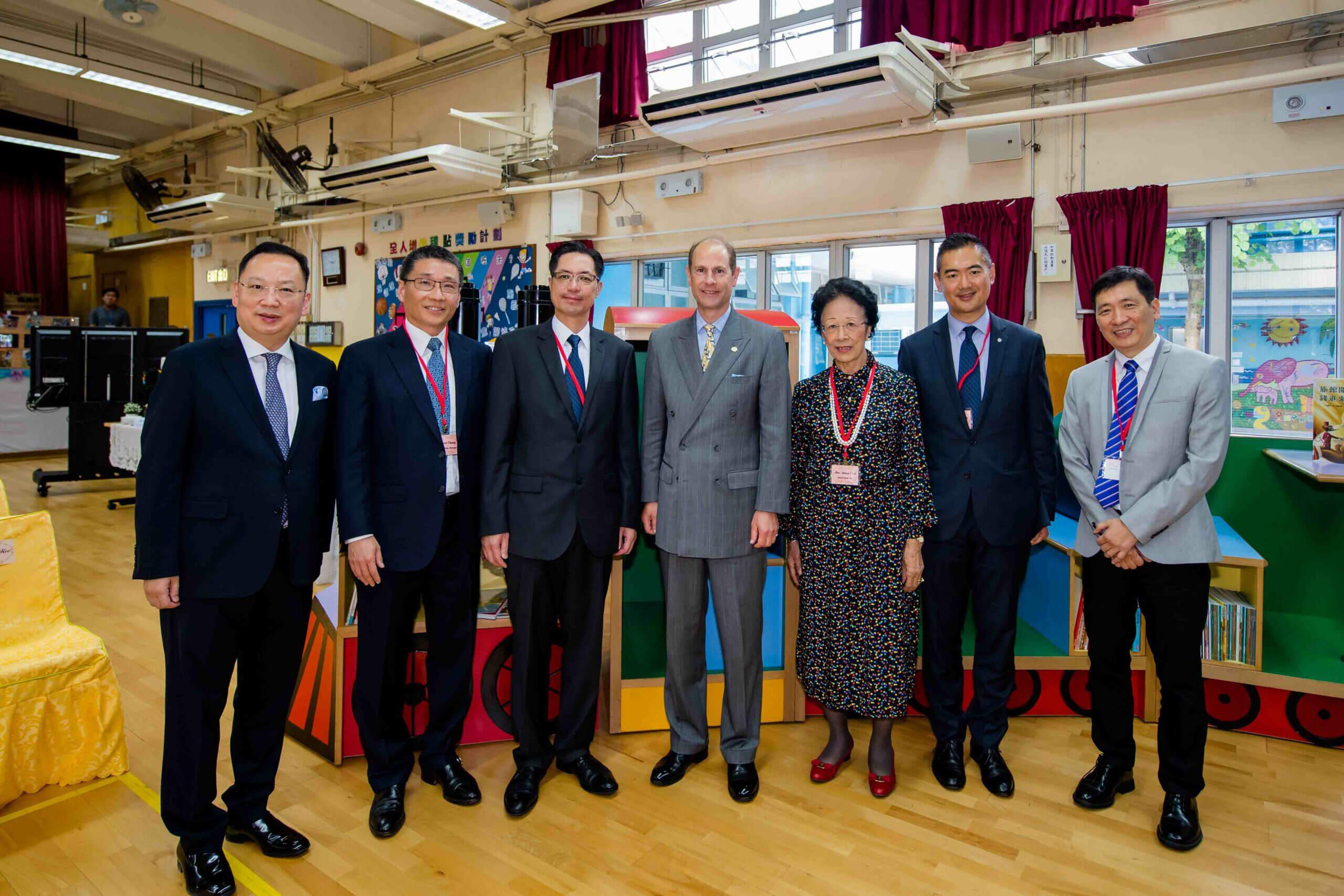 威塞克斯伯爵愛德華王子訪港 與獎勵計劃青年交流 (08/06/2018)